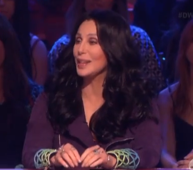 Cher on DWTS