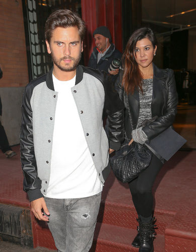 scott disick, kourtney