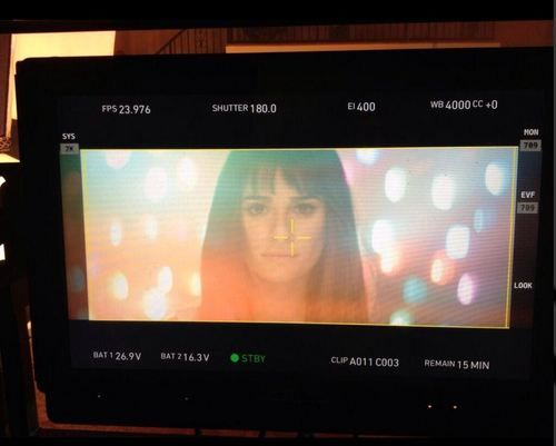 Lea Michele music video