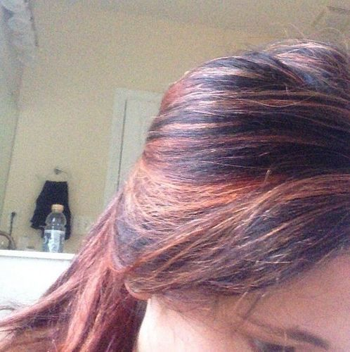 Jenelle Evans Red Highlights