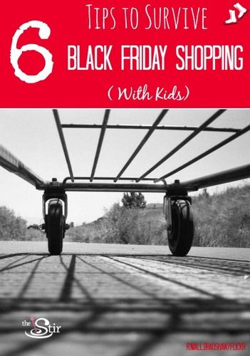 6 tips to survive Black Friday shopping with kids