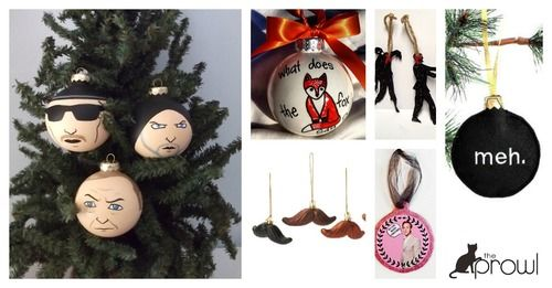 2013 pop culture ornaments