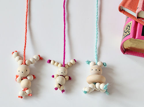 bead bunny bookmarks