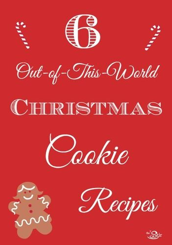 6 out-of-this world Christmas cookie recipes