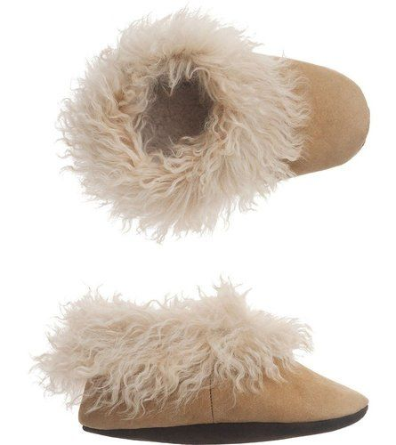 slipper alpaca shearling