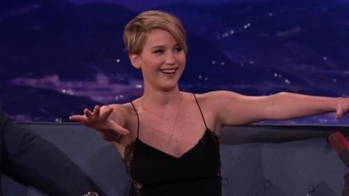 jennifer lawrence on conan