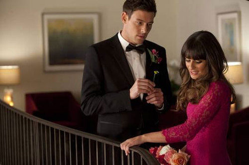Rachel and Finn 'Glee'