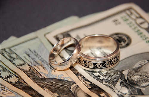 money in marriage