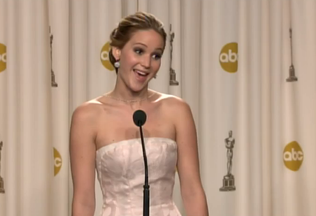 jennifer lawrence talks about her fall at the oscars