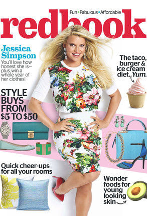 jessica simpson redbook cover february