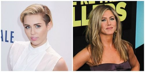 Miley Cyrus Jennifer Aniston