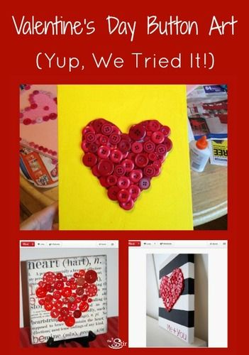 Valentine's Day Button ARt