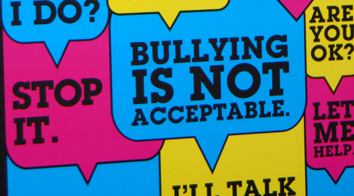 bullying is not acceptable