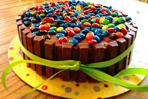 Kit Kat Birthday Cake