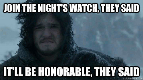 sad jon snow