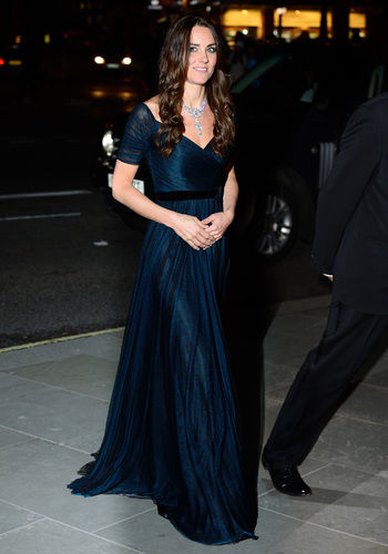 kate middleton national portrait gallery gala