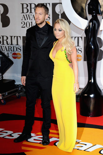 rita ora calvin harris brit awards