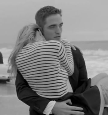 robert pattinson in dior homme commercial