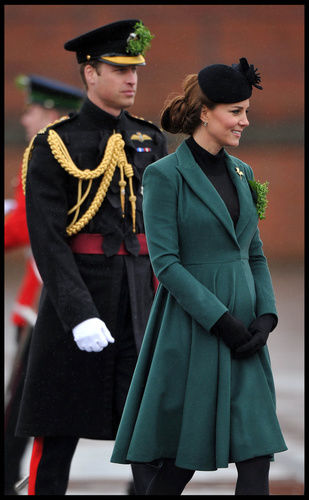 kate middleton prince william st. patrick's day 2013