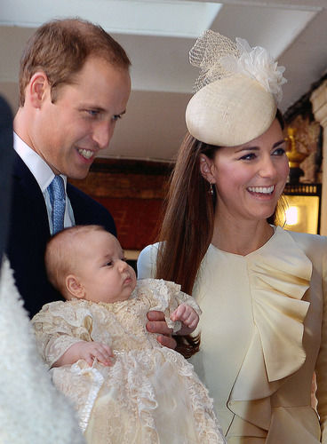 PRince William Kate Middleton Prince George