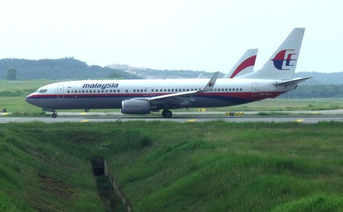 Malasia Airlines jet