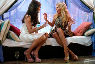 Brandi Glanville and Lisa Vanderpump fight