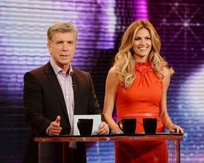 Tom Bergeron Erin Andrews