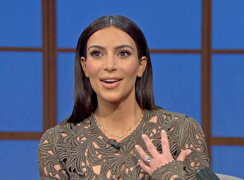 kim kardashian on late night with seth meyers