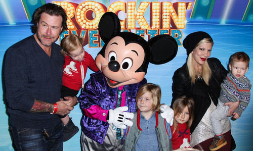 Tori Spelling Dean McDermott 4 kids cheating