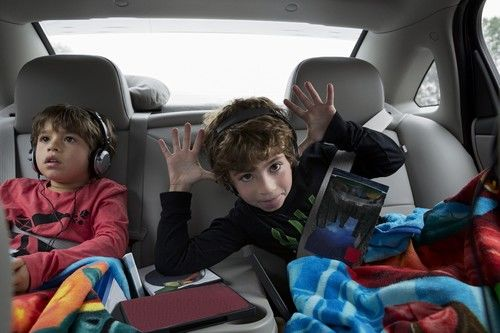 kids in the car