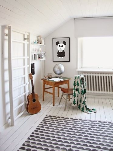 The Perfect Swedish Style Nursery Has All The White Stuff