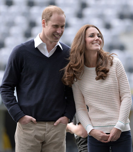 Prince William and Kate Middlet