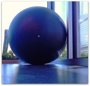 7 Exercises Using Only a Swiss Ball