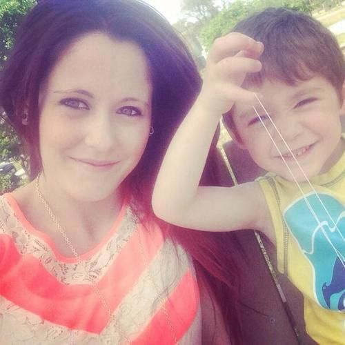 Jenelle Evans and Jace