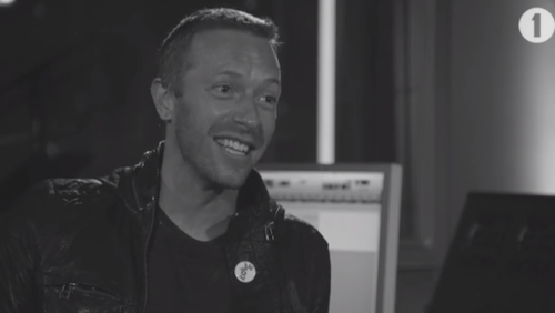 chris martin bbc radio 1 interview