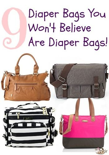 diaper bags that don't look like diaper bags
