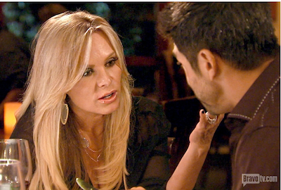 Tamra and Eddie Judge could be on the rocks