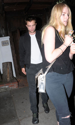 Robert Pattinson Imogen Ker