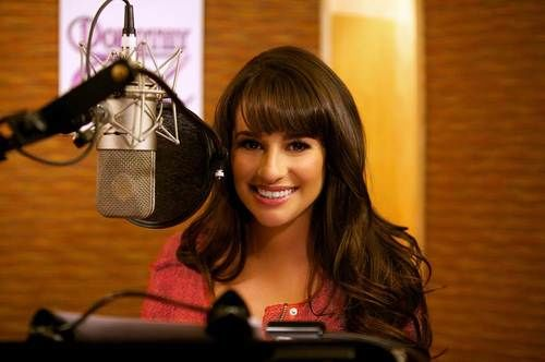 lea michele recording legends of oz: dorothy's return