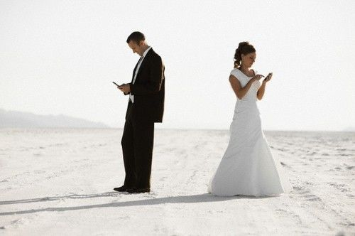 brides who ban phones from weddings