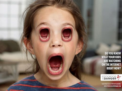 internet kids scary ad