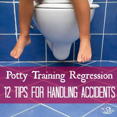 Potty Training Regression: 12 Tips for Handling Accidents