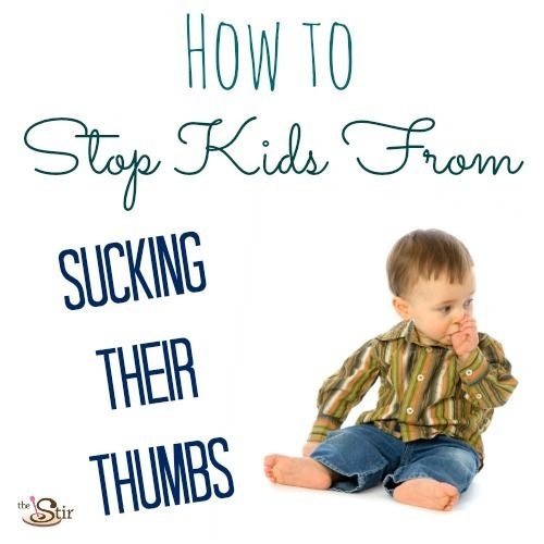 How to Stop Kids From Sucking Their Thumbs