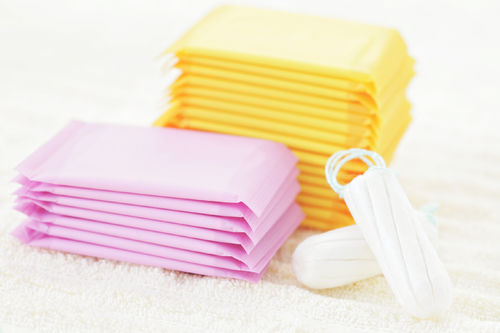 pads tampons period products
