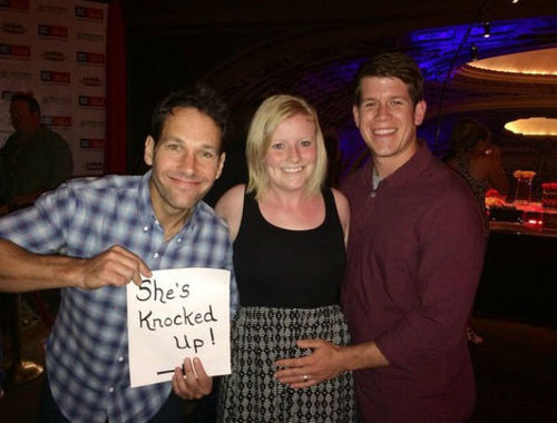 Paul Rudd Knocked Up