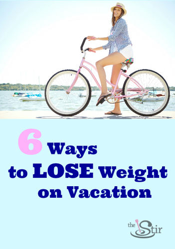 lose weight vacation