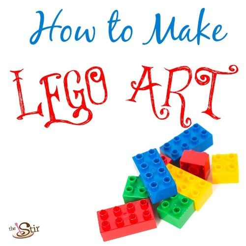 How to Make LEGO Art