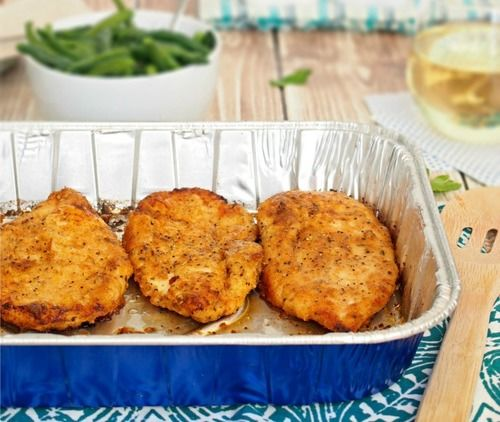 oven baked fried chicken recipe