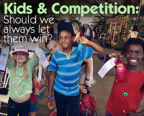 kids and competition
