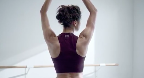 Misty Copeland ballerina Under Armour